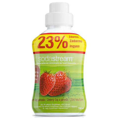 Сироп Sodastream Зеленый чай - Клубника