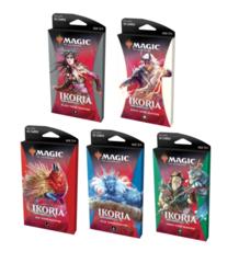 5 разных Тематических бустеров выпуска «Ikoria» (английский)