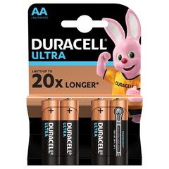 Батарейки Duracell Turbo/Ultra LR6, AA (4/80) BL