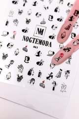Наклейки NogteModa №063