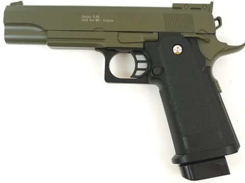 Страйкбольный пистолет Galaxy G.6G Colt металлический, пружинный
