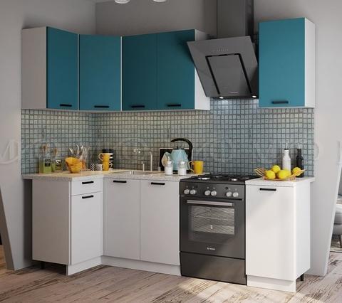 Кухня Угловая Техно NEW 1,1-1,8 м №1