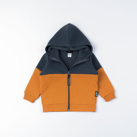 Color Block warm sweatshirt - Graphite/Amber Yellow