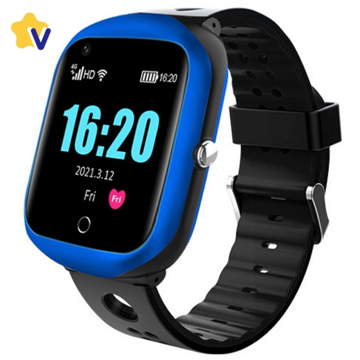Видеочасы и часы-телефоны с GPS Smart Baby Watch FA66 часы телефон с GPS, WiFi, SIM, видеозвонок, чат, SOS, скрытый звонок, фото ... FA66_BLU_2.jpg