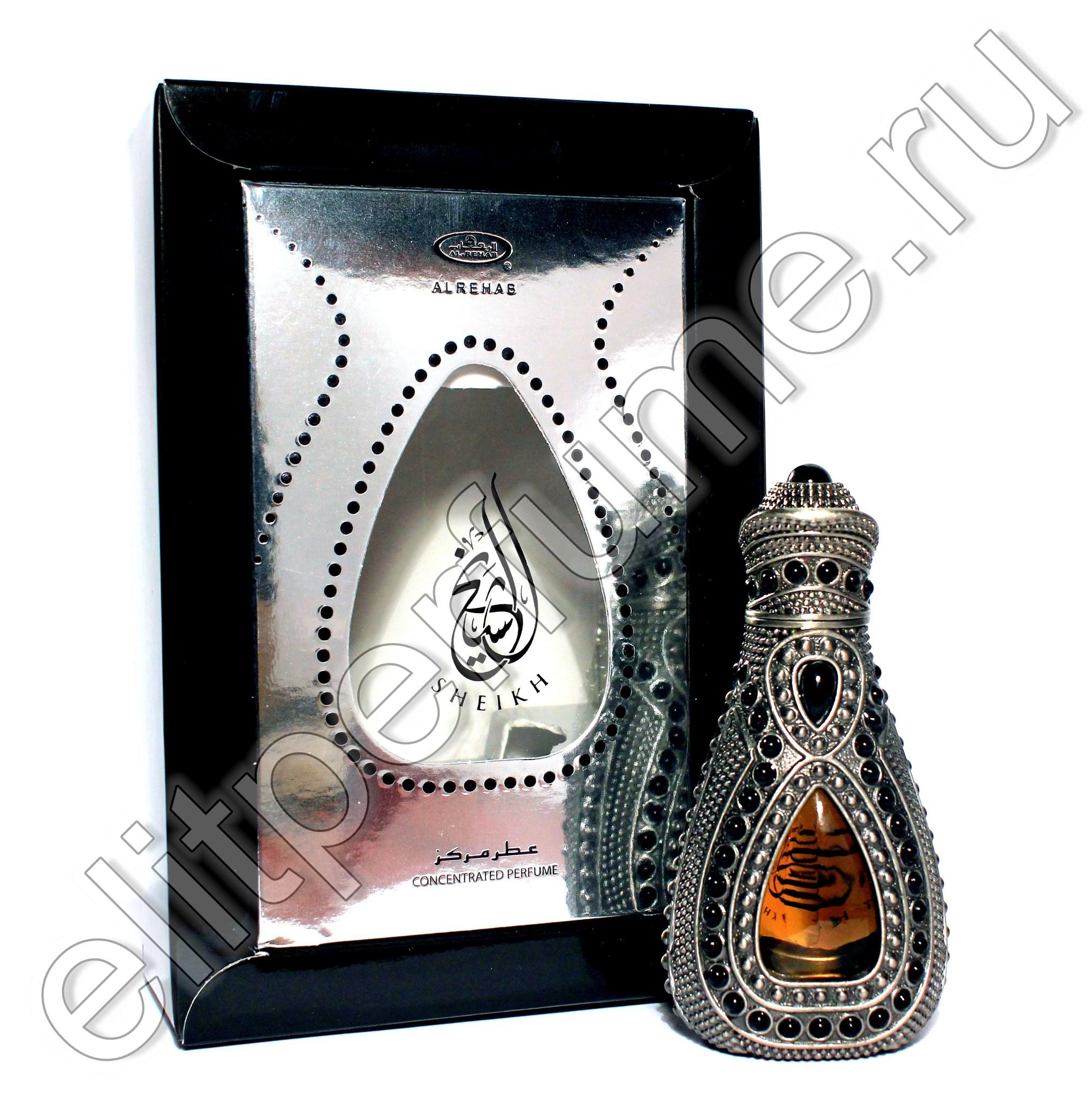 Al Rehab Sheikh / Шейх 15 мл арабские масляные духи от Аль Рехаб Al Rehab