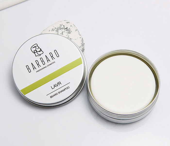 RAZ1011 Шампунь мыло для бороды Barbaro «Lavr» (50 гр) фото 05
