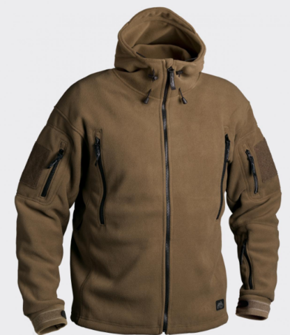 Флисовая куртка Helikon PATRIOT (Double Fleece) Coyote