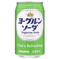 Газированный напиток Sangaria Yogurun Soda со вкусом йогурта 350 мл