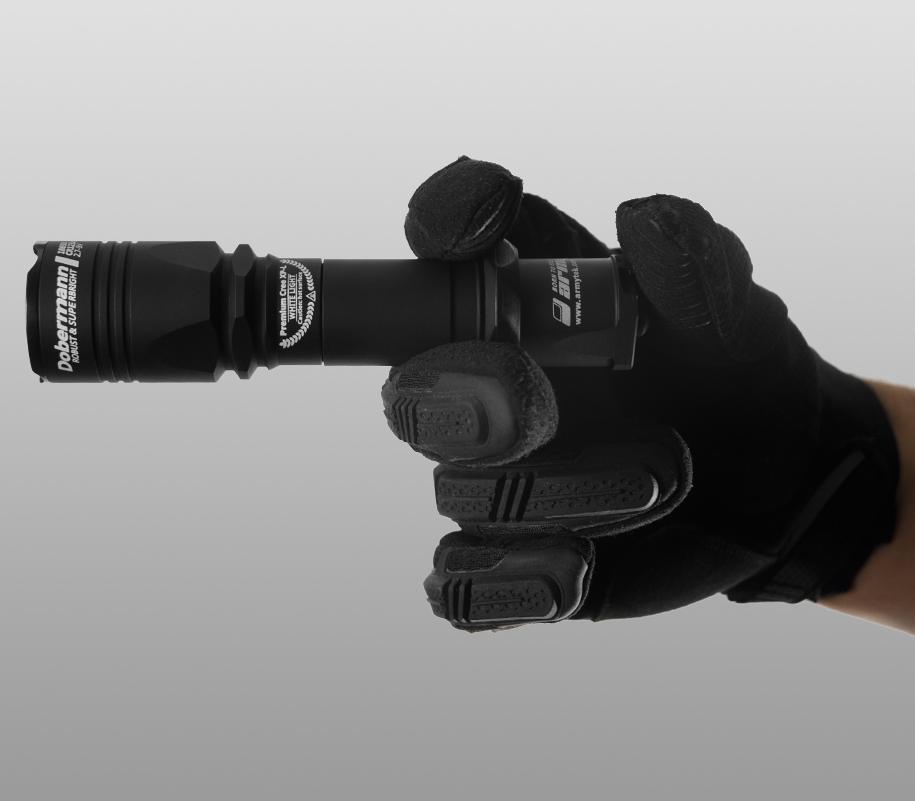 Тактический фонарь Armytek Dobermann (красный свет) - фото 5