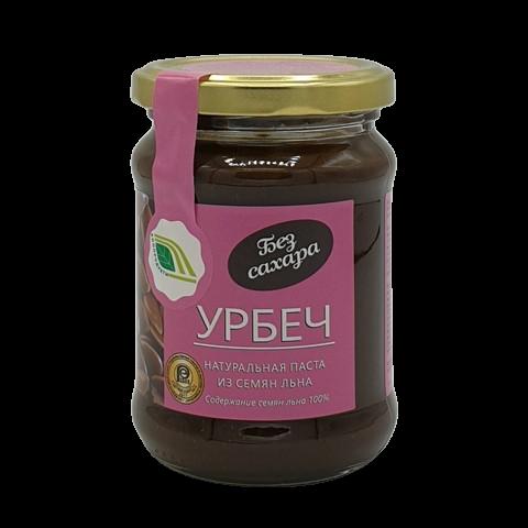 Урбеч натуральная паста из семян льна БИОПРОДУКТ, 280 гр