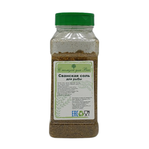 Сванская соль для рыбы С ПОЛЬЗОЙ ДЛЯ ВАС, 600 гр