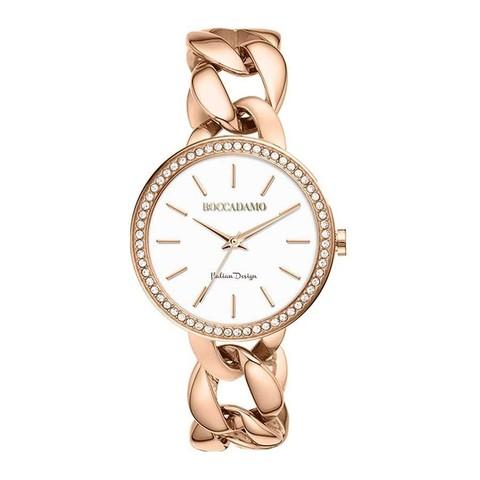 Часы LadyB Rosegold White LB007 BW/RG