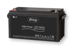AGM батарея 12 В / 80 Ач