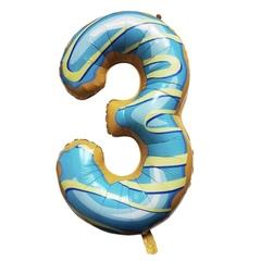 Y Фигура Цифра 3 Пончик 40