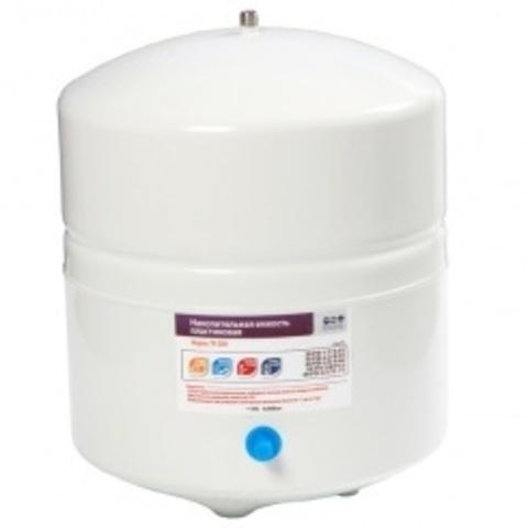 Накопительная емкость металлическая ROT-4W (объем 4 Gal/12 литров, белый), Райфил