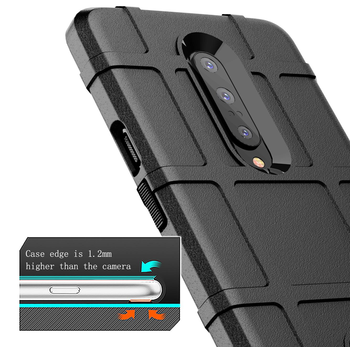 Чехол для OnePlus 7 Pro цвет Black (черный), серия Armor от Caseport