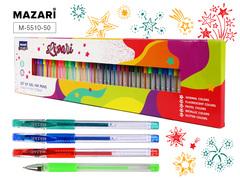 Mazari Lipari набор гелевых ручек 0.6-0.9 мм - 50 цветов