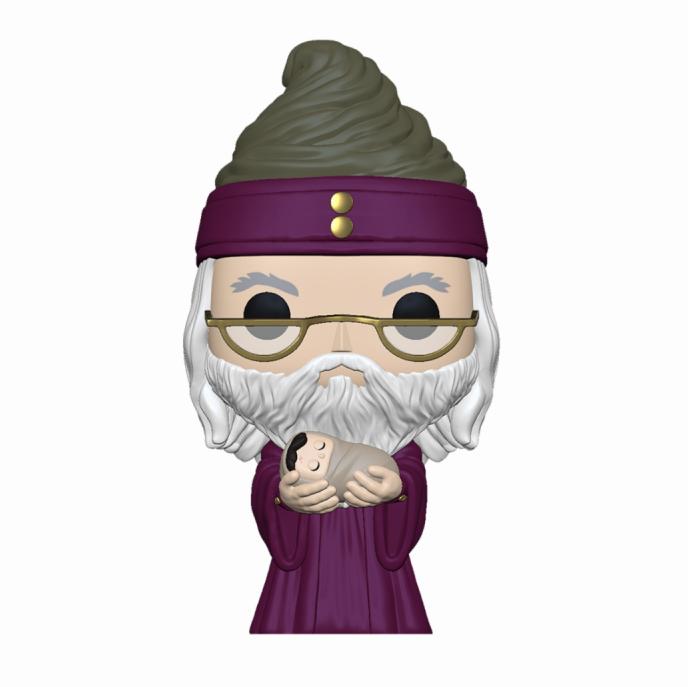 Фигурка Funko POP! Harry Potter Albus Dumbledore w/Baby Harry 48067