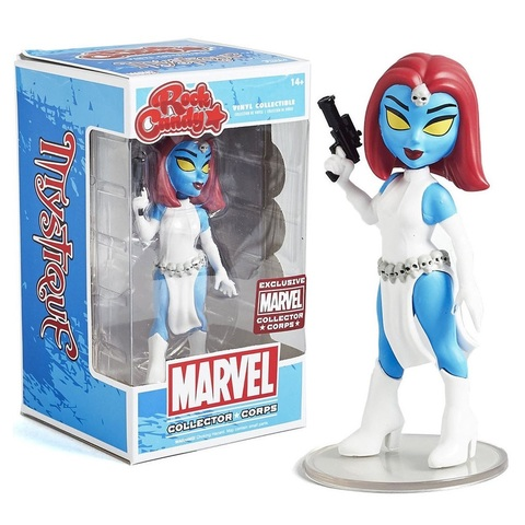 Фигурка Funko Rock Candy: Marvel - Mystique (Excl. to Collector Corps)