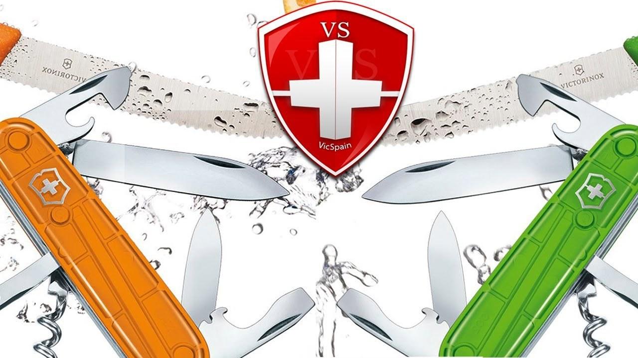 Набор из 2-х ножей Victorinox Color Twins (1.8901.L4) зелёный - Wenger-Victorinox.Ru