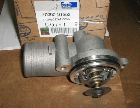 Корпус термостата с термостатом, отвод правый / THERMOSTAT CONN АРТ: 10000-01553