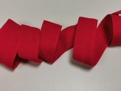 Трикотажная бейка, красная, 15 мм