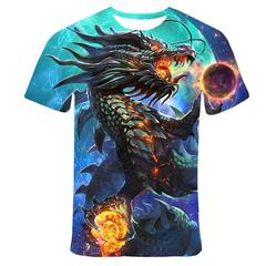 Футболка 3D принт, Дракон (3Д Dragon) 08