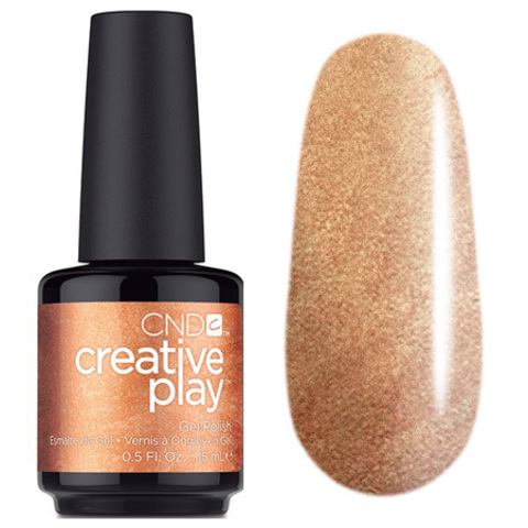 CND Creative Play Gel # 509 Bronze Burst Гель-лак 15 мл