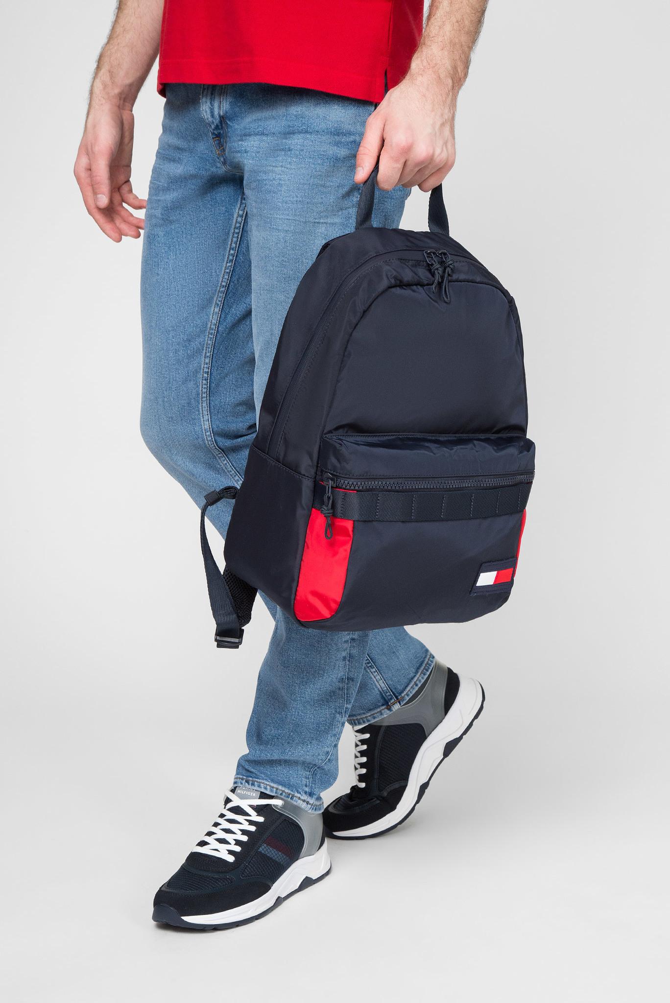 Мужской темно-синий рюкзак Tommy Hilfiger