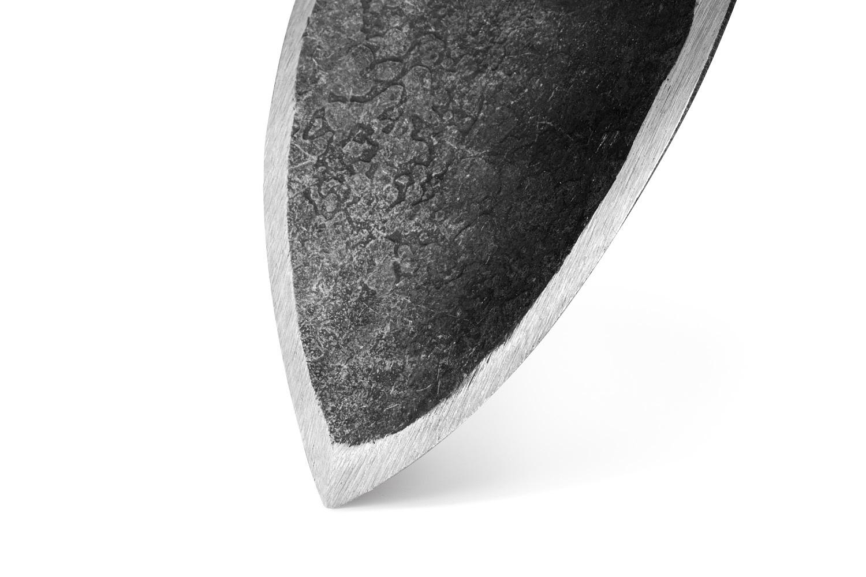"""Цельнометаллический кованый садовый совок """"Крутыш"""" DeWit"""