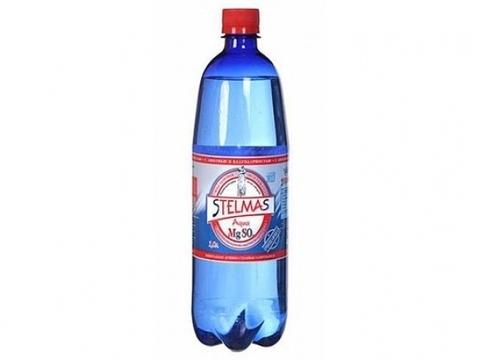 Минеральная Вода Stelmas Mg 1л газ