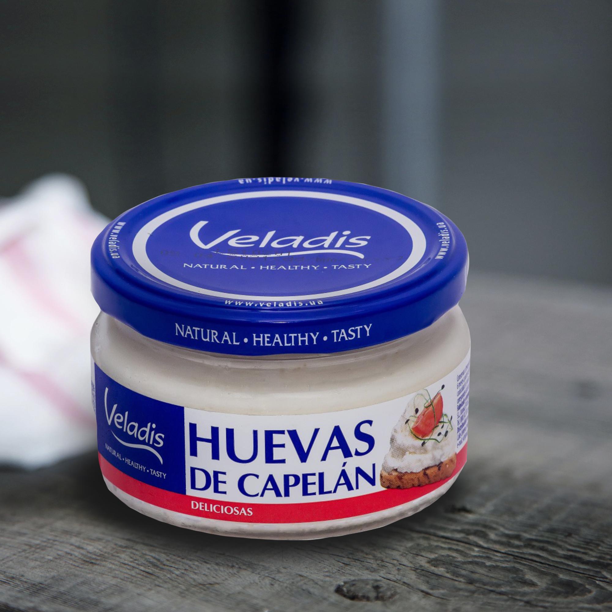 Crema de huevas de capelán