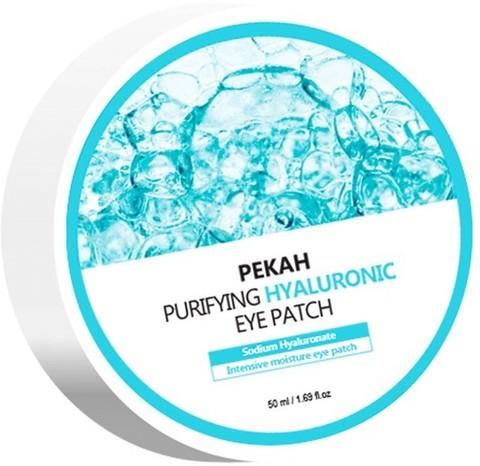 PEKAH Омолаживающие патчи для глаз с гиалуроновой кислотой Purifying Hyaluronic Eye Patch, 90g/60EA
