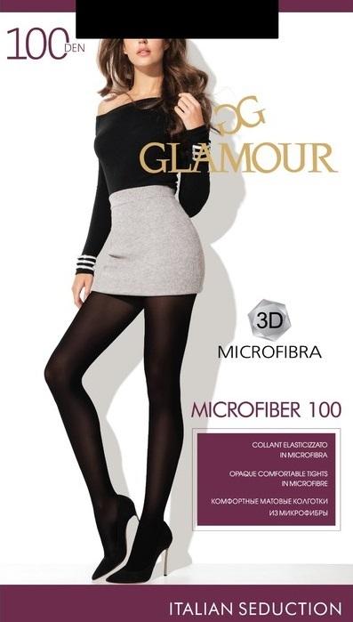Glamour Microfiber 100 3D колготки женские