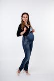 Комбинезон для беременных 08071 синий