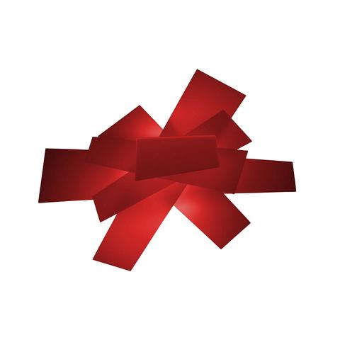 Настенный светильник копия Big Bang by Foscarini (красный)