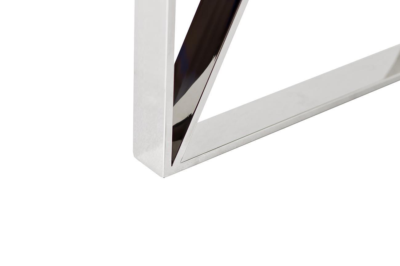 Консоль прозрачное стекло/хром (47ED-CST008) Garda Decor