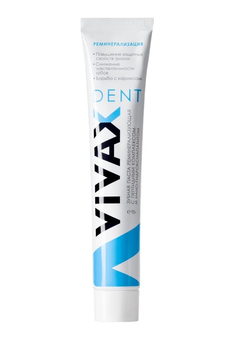VIVAX DENT зубная паста с пептидами и Нано-гидроксиаппатитом