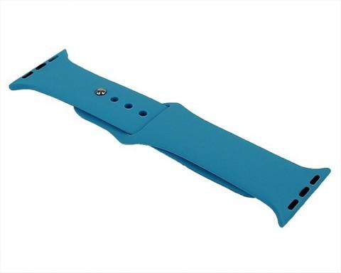 Ремешок для Apple Watch 38mm/40mm силиконовый | небесный синий