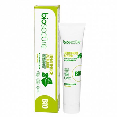 Зубная паста с фтором, Biosecure