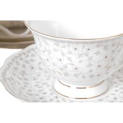 Чайный набор из фарфора на 6 персон