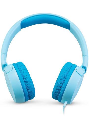JBL / Детские проводные наушники с ограничением громкости | голубые разъем 3.5 мм
