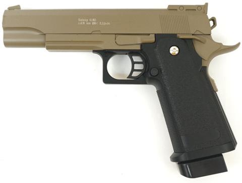 Страйкбольный пистолет Galaxy G.6D  Colt  металлический, пружинный