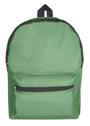 Рюкзак Silwerhof Simple, зеленый, 28x41x14 см