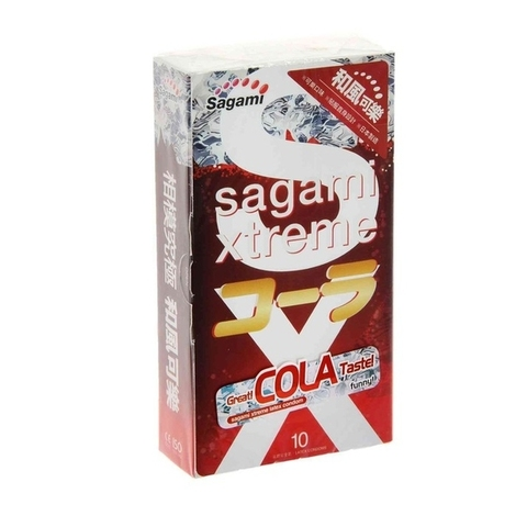 Sagami №10 COLA Презервативы с ароматом колы