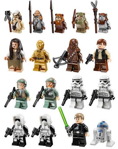 LEGO Star Wars: Деревня Эвоков 10236 — Ewok Village — Лего Звездные войны Стар Ворз