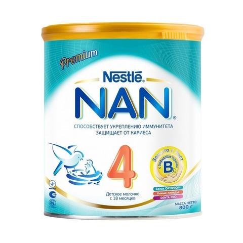 NAN® 4 OPTIPRO®  Детское молочко с 18 месяцев 800гр