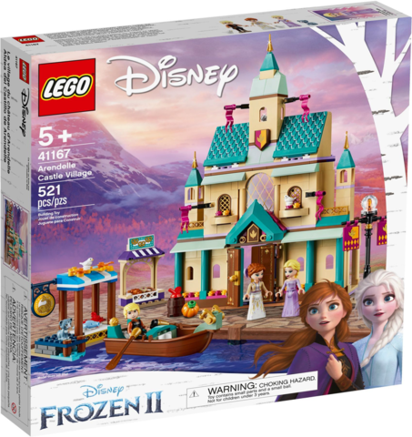 LEGO Disney Princess: Деревня в Эренделле 41167 — Arendelle Castle Village — Лего Принцессы Диснея