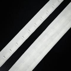 Крючки на ленте двухрядные молочные (цв. 004)