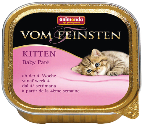 Консервы Animonda Vom Feinsten Kitten Baby-Pate паштет для котят